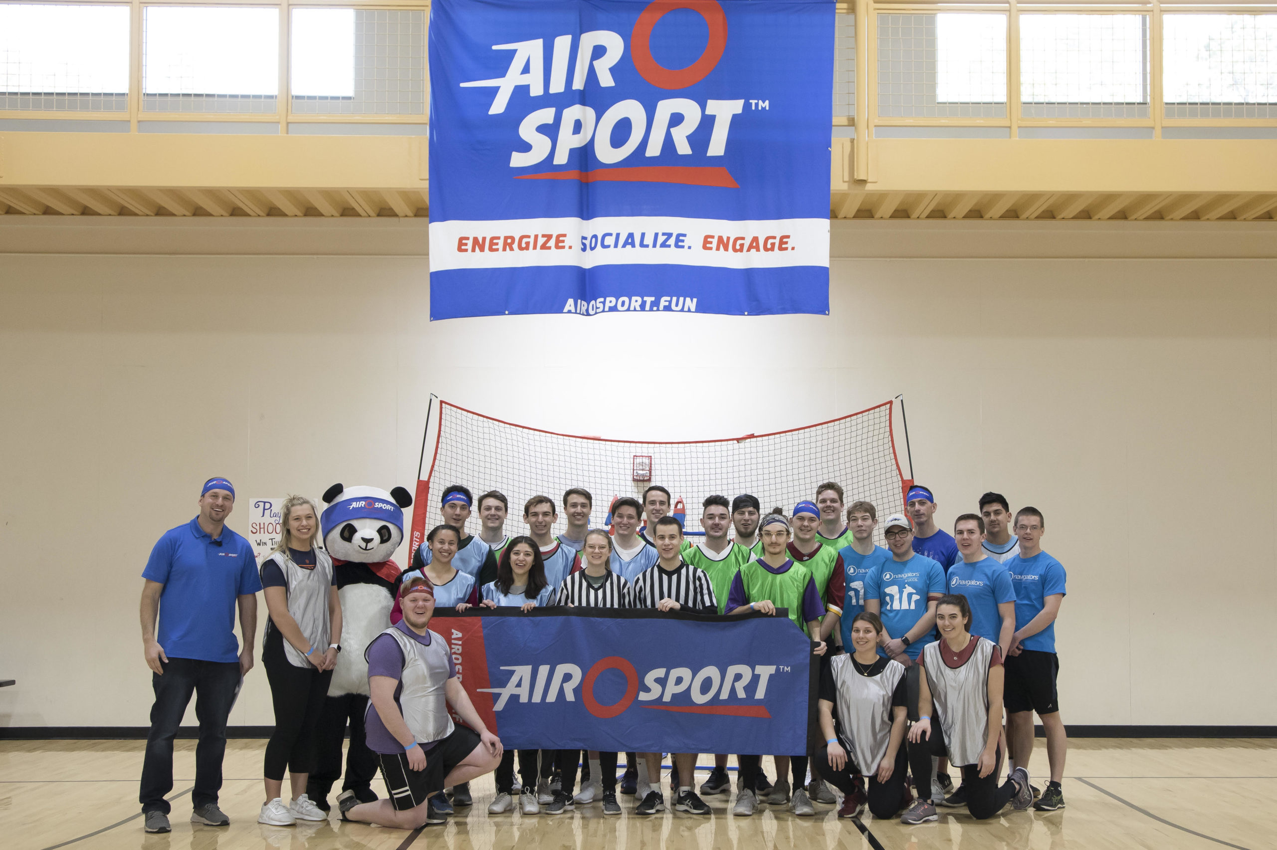 UCCS hosted a Feb 2020 event supported by the YMCA where the Air O Sport tournament guide was developed.